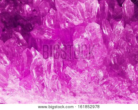 amethyst gem semigem geode crystals geological mineral isolated