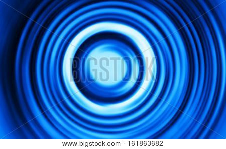 Blue motion blur teleport swirl background hd