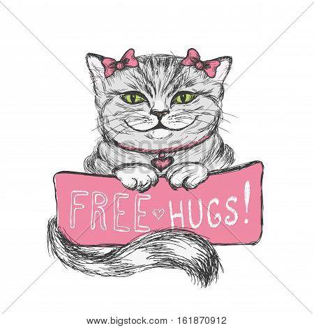 Cute Hand Drawn  Card,