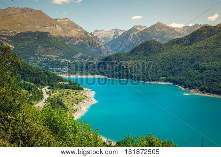 Bulbal Reservoir also called Swamp Bubal is a reservoir located in the Spanish Pyrenees Valle de Tena (Huesca).