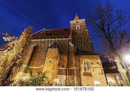 Church of the Holy Cross in Krakow Krakow Lesser Poland Poland.