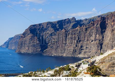 Acantilados de los Gigantes Tenerife Canary Islands Spain.