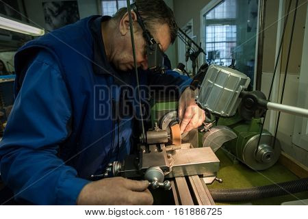 Manufacturing Of Parts For Watches