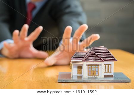 Banks are going to seize homes concept business