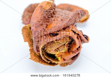 Petrified Rose, Typical Souvenir Of The Karlovy Vary Town In Czech Repubic.