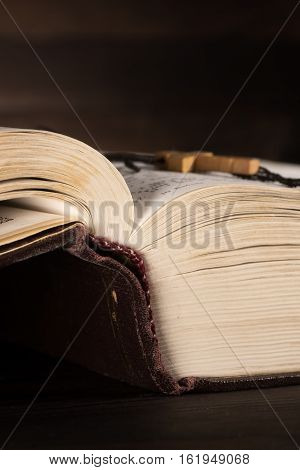 The Old Open Book - The Holy Bible