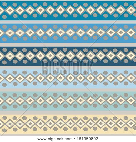Ethnic Abstract bright pattern background. Vector illustration.