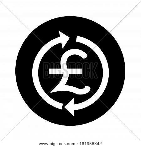 Money GBP currency symbol pound icon illustration design