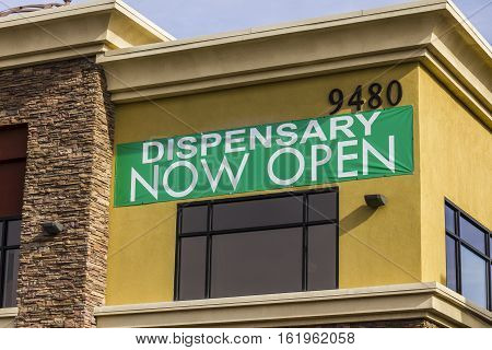 Henderson - Circa December 2016: The Source Las Vegas Medical Marijuana Dispensary. In 2017 Recreational Pot will be legal in Nevada I