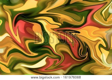 Blurry paint abstract background from Christmas tree modify in Photoshop