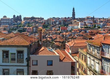 Porto City Top View (potugal).