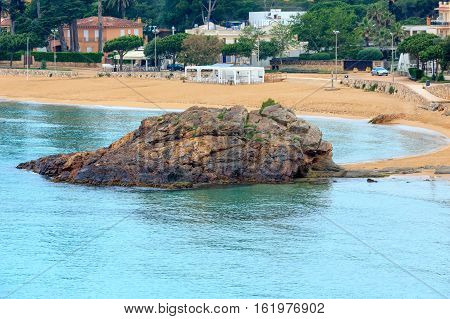 Summer La Fosca Beach, Palamos, Spain.