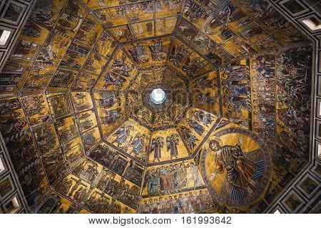 Dome Of Florence Baptistery San Giovanni