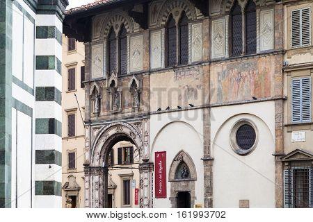 House Of Museum Of Bigallo In Loggia Del Bigallo