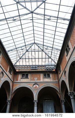 Hall Of Basilica Della Santissima Annunziata
