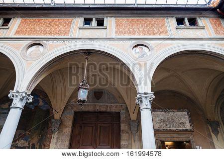Door Of Basilica Della Santissima Annunziata