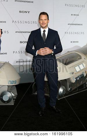 LOS ANGELES - DEC 14:  Chris Pratt at the
