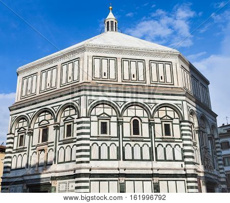 Baptistery Of Saint John In Florence City