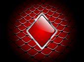 casino element rhombus poster