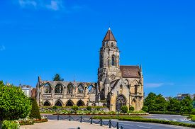 Hdr Ruins Of Caen Abbey