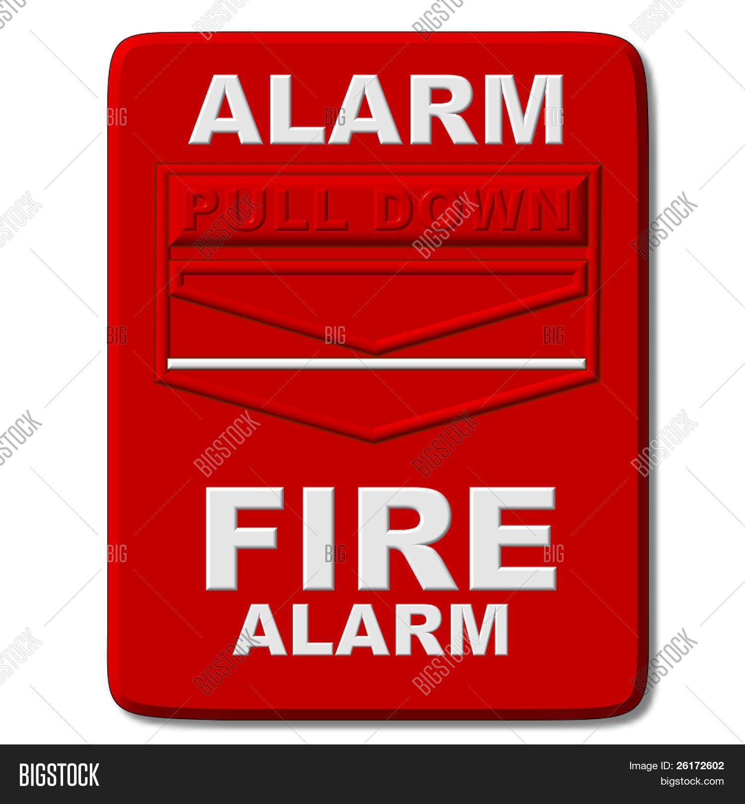 Fire Alarm Pull Image Photo Free Trial Bigstock