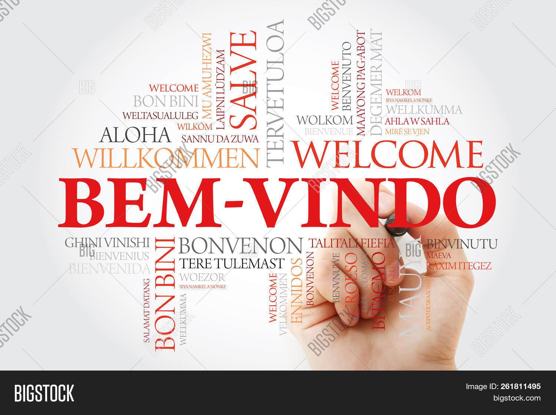 Bem Vindo Welcome Image Photo Free Trial Bigstock