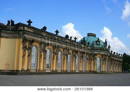 Travel in Germany. Potsdam. Sans Souci