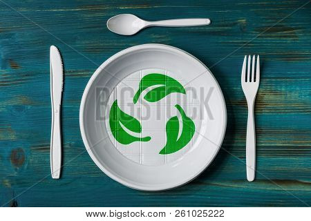 Recyclable Plastic Dish
