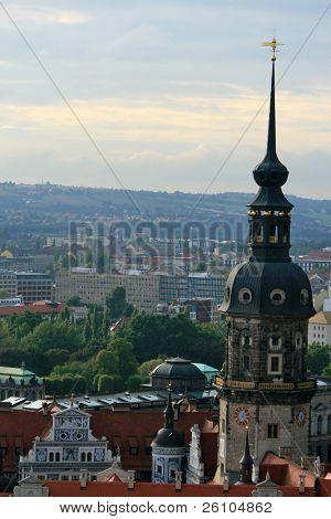 View of Dresden, Residenzschloss, Germany