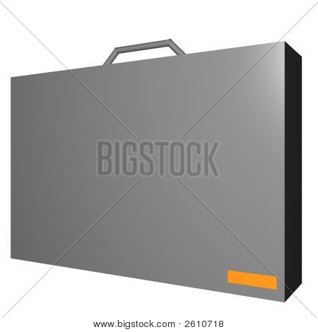 Briefcase Object For Diagram And Presentation