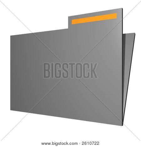 Folder Object For Diagram And Presentation