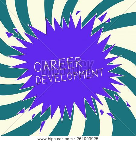 Conceptual Hand Writing Showing Career Development. Business Photo Text Lifelong Learning Improving