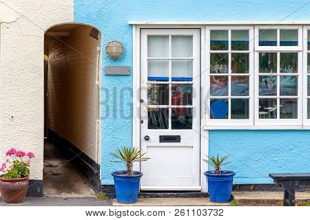Holiday Cottage In Southwold, A Popular Seaside Town In The Uk