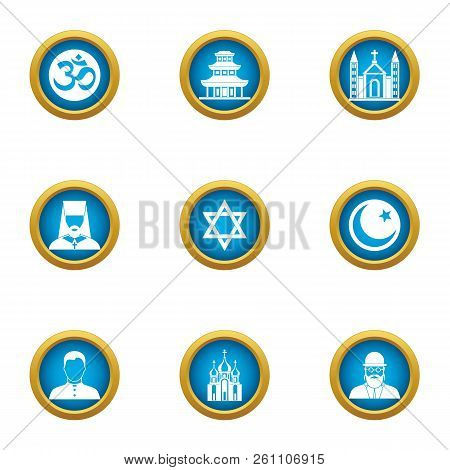 Assumption Icons Set. Flat Set Of 9 Assumption Vector Icons For Web Isolated On White Background