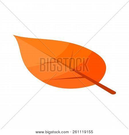 Poplar Yellow Tree Leaf Icon. Isometric Of Poplar Yellow Tree Leaf Vector Icon For Web Design Isolat