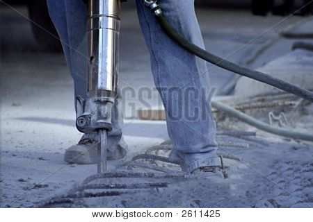 Man With Jack Hammer