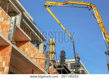 Big Construction Site Color Image Stock Photos