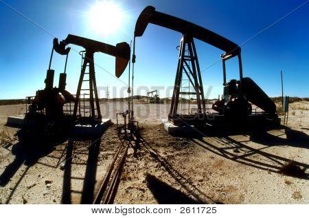 Oilfield Pumping Jacks
