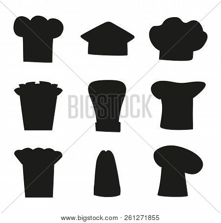 Chef Hats Outline Vector   Photo (Free Trial)  d56889035841