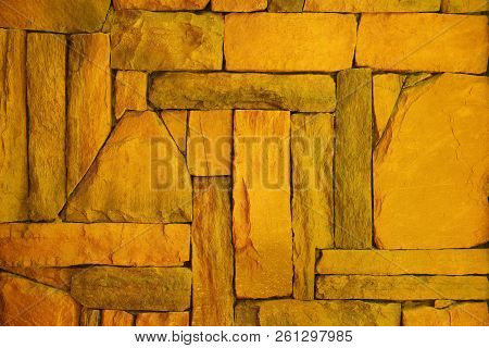 Gold Texture For Background ,cement Wall,concrete Floor.