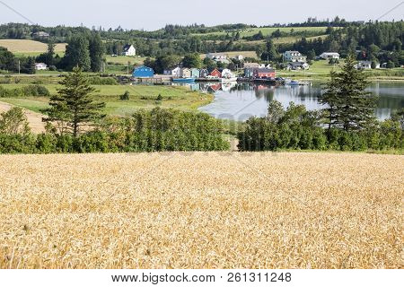 French River Area Of Prince Edward Island Canada