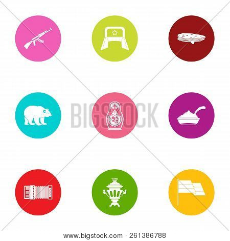 Military Action Icons Set. Flat Set Of 9 Military Action Vector Icons For Web Isolated On White Back
