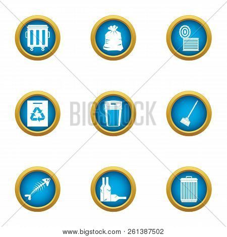 Withdrawal Icons Set. Flat Set Of 9 Withdrawal Vector Icons For Web Isolated On White Background