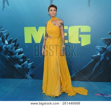 LOS ANGELES - AUG 06:  Ruby Rose arrives to the