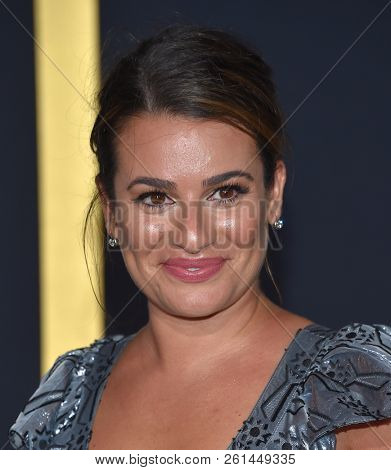 LOS ANGELES - SEP 24:  Lea Michele arrives for the