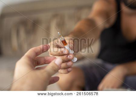 Intravenous Drug Users Sharing Syringe