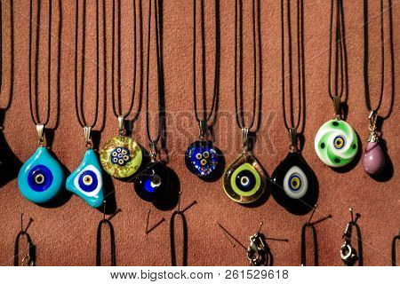 Handcrafted Multicolored Murano Glass Necklaces
