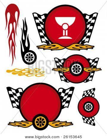 racing team logo