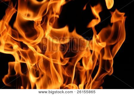 Flames for background use