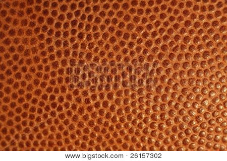 Texture of a football for background
